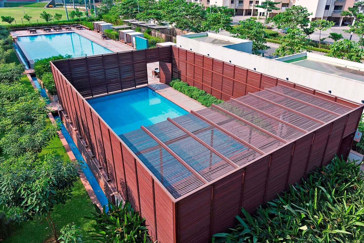 Swimming Pool Screen - Lodha