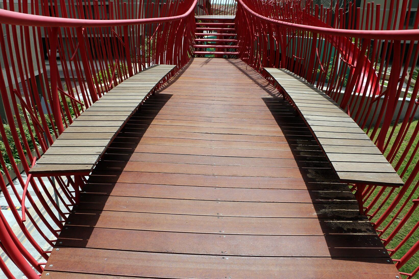 80 feet Pergola & Bridge